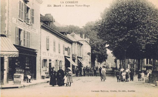 Bort autrefois mairie de bort les orgues - Le notre avenue victor hugo ...