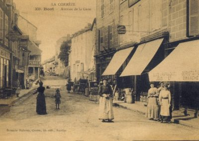 Avenue de la Gare de Bort