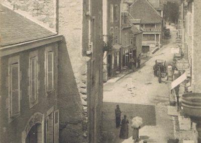 Avenue de la Gare - prise du Faubourg
