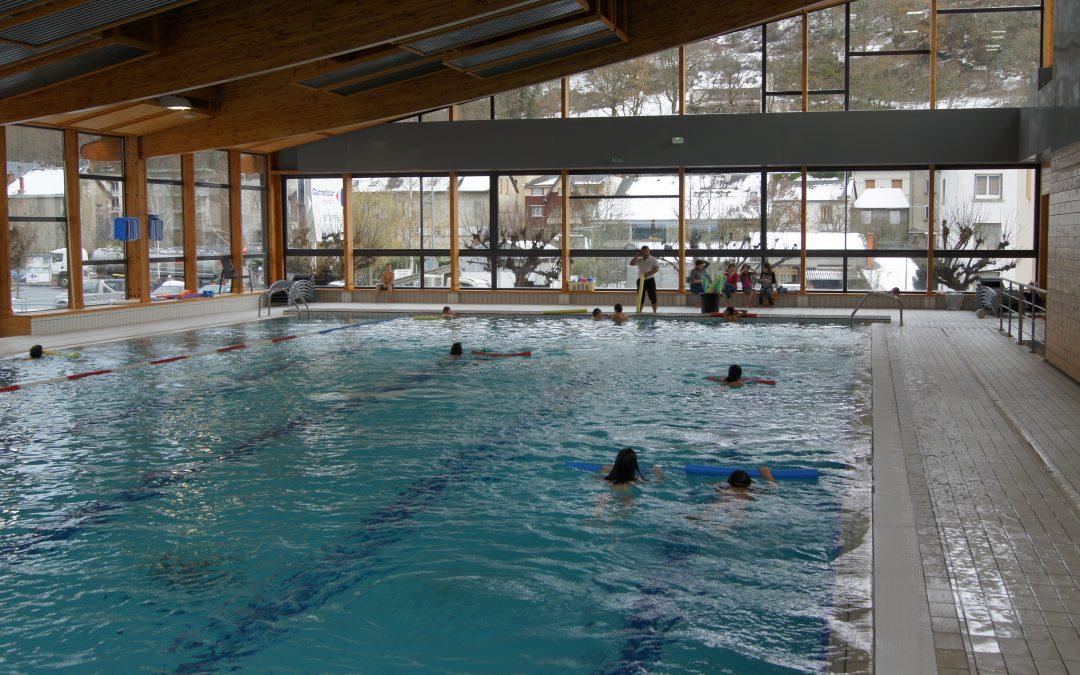 Réouverture de la piscine municipale le mardi 4 février 2020