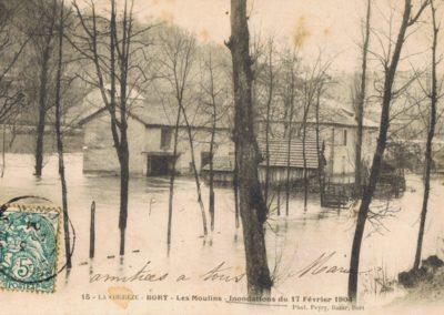 Les Moulins - inondations du 17 février 1904