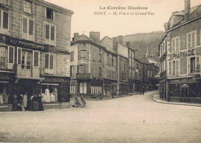 Place et Grande Rue