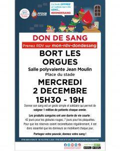 Don du sang - 2 décembre 2020